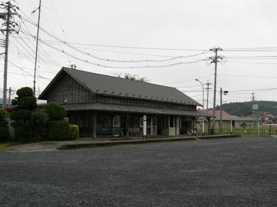 仙北鉄道・登米駅 (宮城県)